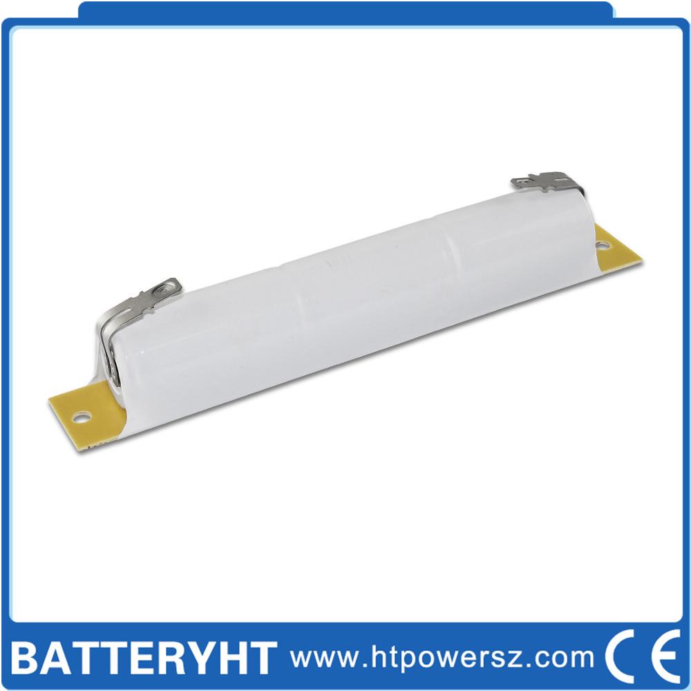自動非常灯回路の充電電池