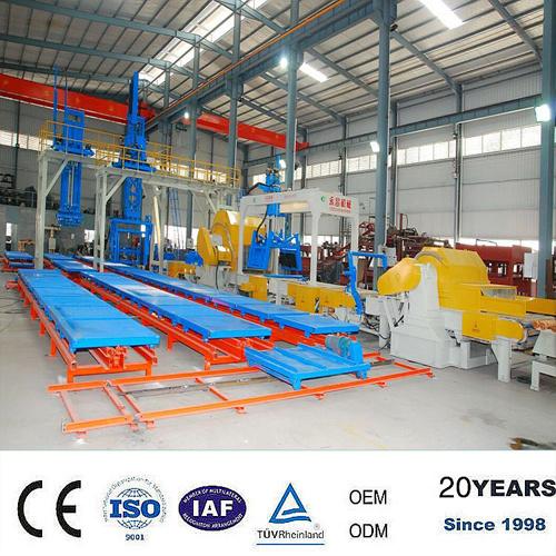 Linea di produzione leggera della macchina del blocco in calcestruzzo della gomma piuma