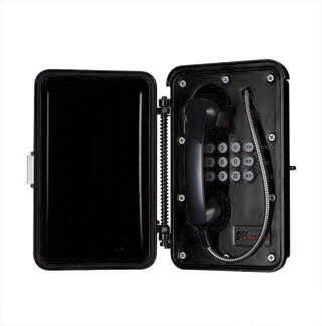 Im Freien Notruftelefon industrielles wetterfestes VoIP Telefon des Tunnel-Knsp-01