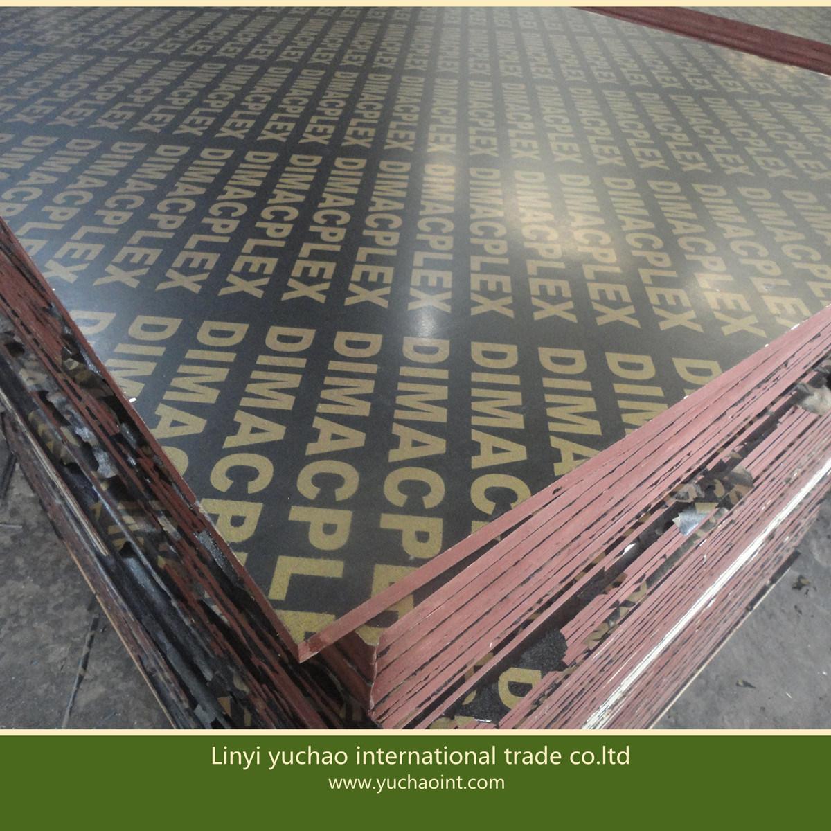 Foto de Material de construção chinês filme barato confrontados com ...