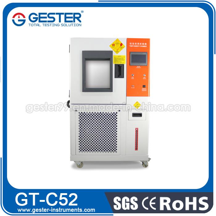 Equipo de pruebas de temperatura y humedad (GT-C52)
