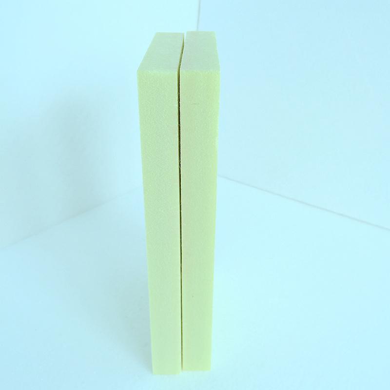 Fuda verdrängte des Polystyren-(XPS) Gelb 20mm Schaumgummi-des Vorstand-B3 des Grad-500kpa dick