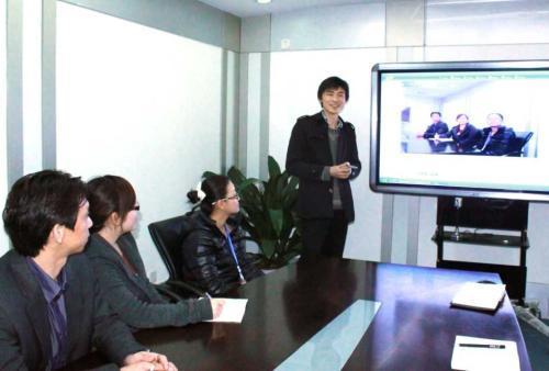 Interactieve Elektronische Whiteboard voor het Leren en het Samenkomen