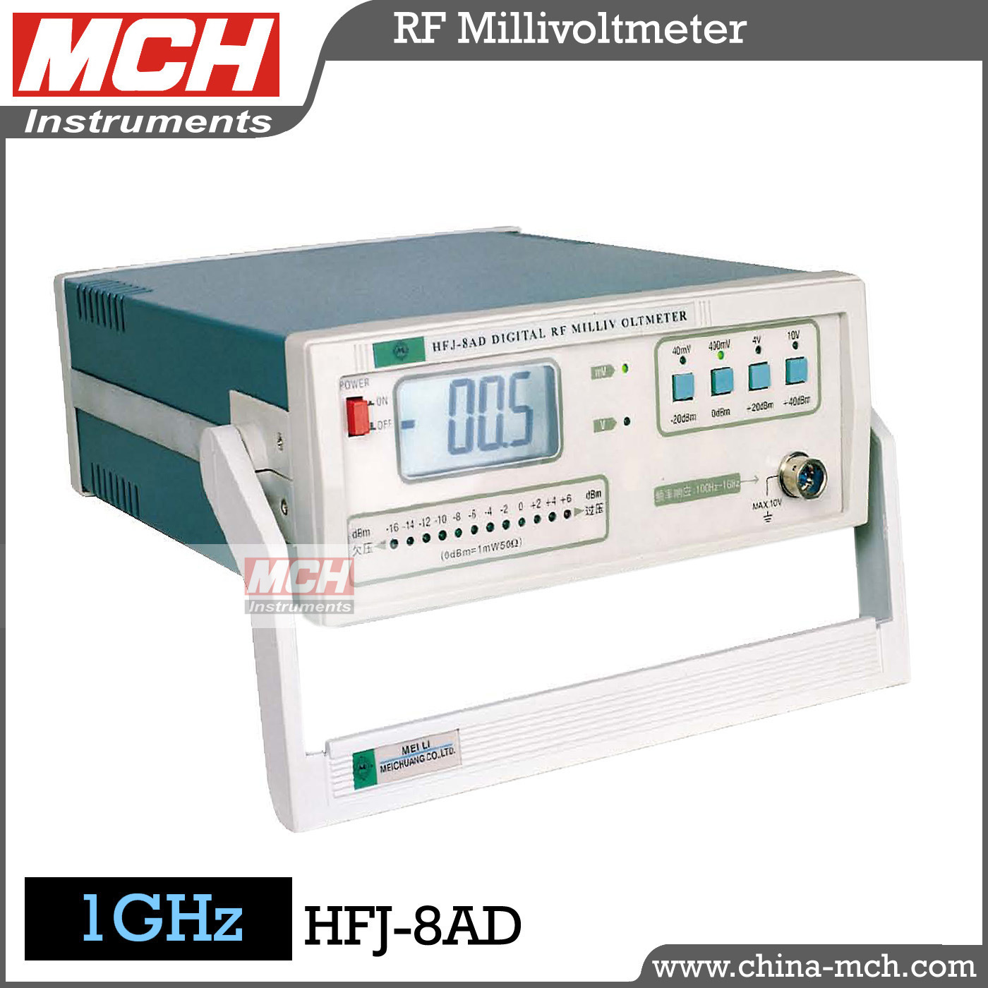 High Frequency Voltmeter : Mhz frequency high accuracy rf millivoltmeter digital