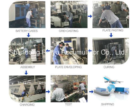Les batteries chinois Factory /12V usine Batteryies plomb-acide