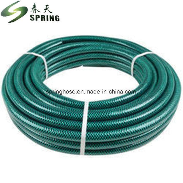 PVC-Gartenschlauch mit Faserverstärkung und UV-beständigen Zeichen