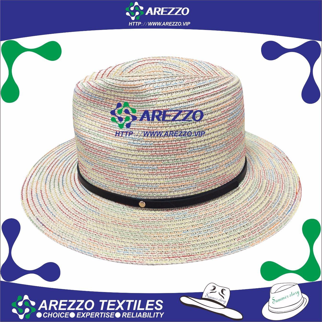 Novo Design Cowboy Chapéu de Palha de papel (AZ025A)