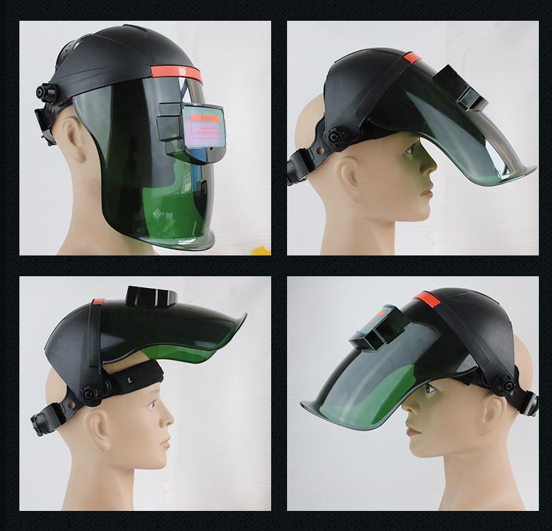 Sterke vlamboog beschermt veiligheidslas Helmet met milieutechnisch materiaal