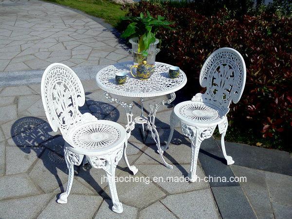 En el exterior de aluminio fundido de hierro fundido y muebles de ...