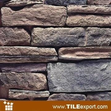 piedra cultivada artificial para el revestimiento de pared