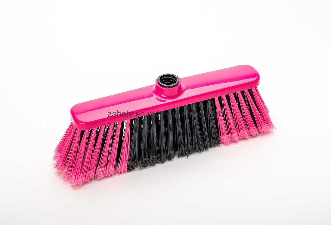 1つの多彩な剛毛の柔らかい広がりのほうきヘッド/Escobaに付き2つの熱い販売法南アメリカ