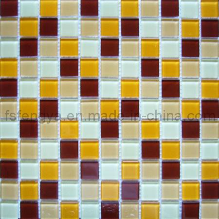 Piastrelle in vetro mosaico (25FB02)