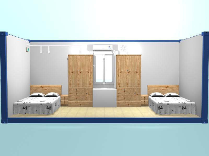 Cuisine pr fabriqu e salle salle de bain salle de lavage salle de douche chambre - Salle de bain prefabriquee ...