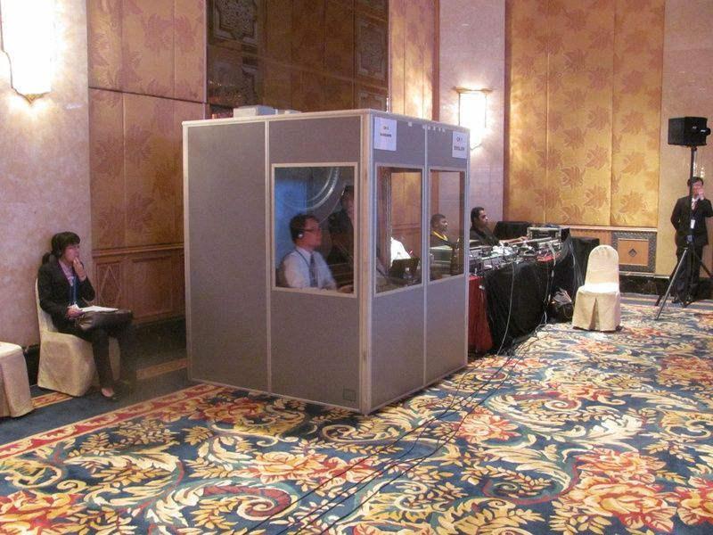 La norme ISO4043 cabine de traduction simultanée (CSL-160)