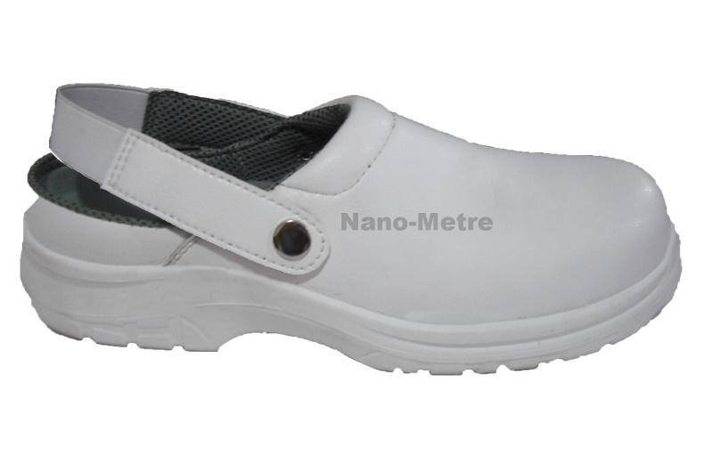 Nmsafety Weiße Küche Esd-Sicherheits-Schuh-Krankenschwester-Schuhe