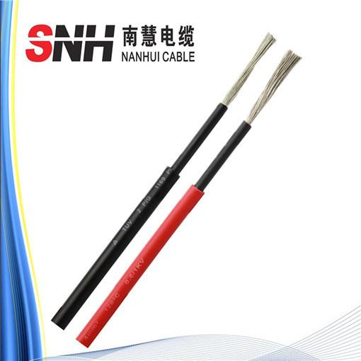 De zonne Enige/TweelingKern van de Kabel 6mm2