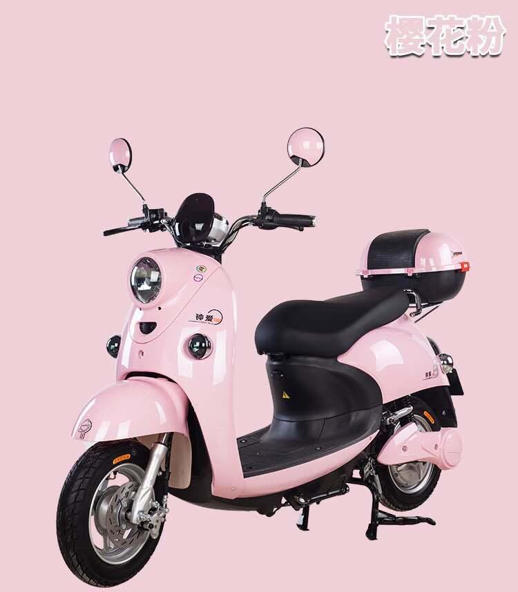 Elektrische motorfiets voor elektrische scooters met lithiumbatterij voor volwassenen van 1000 W.