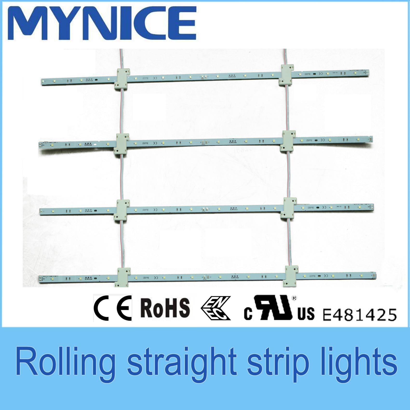 luz rígida de la barra de 12V 5730 LED para hacer publicidad del rectángulo 3 años de garantía