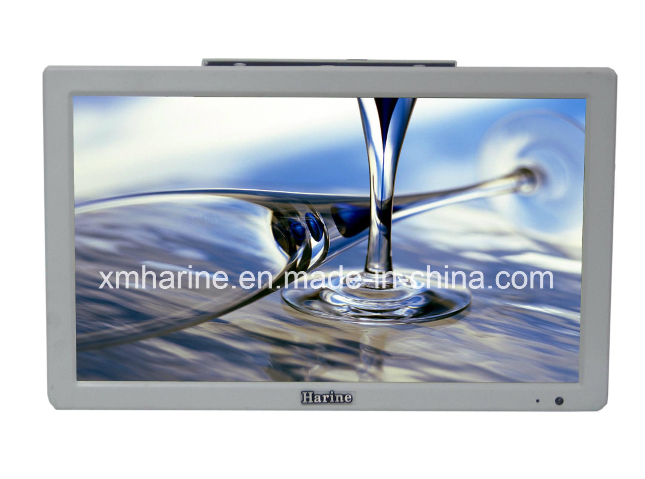Affichage LCD 15,6 pouces Bus moniteur vidéo de voiture