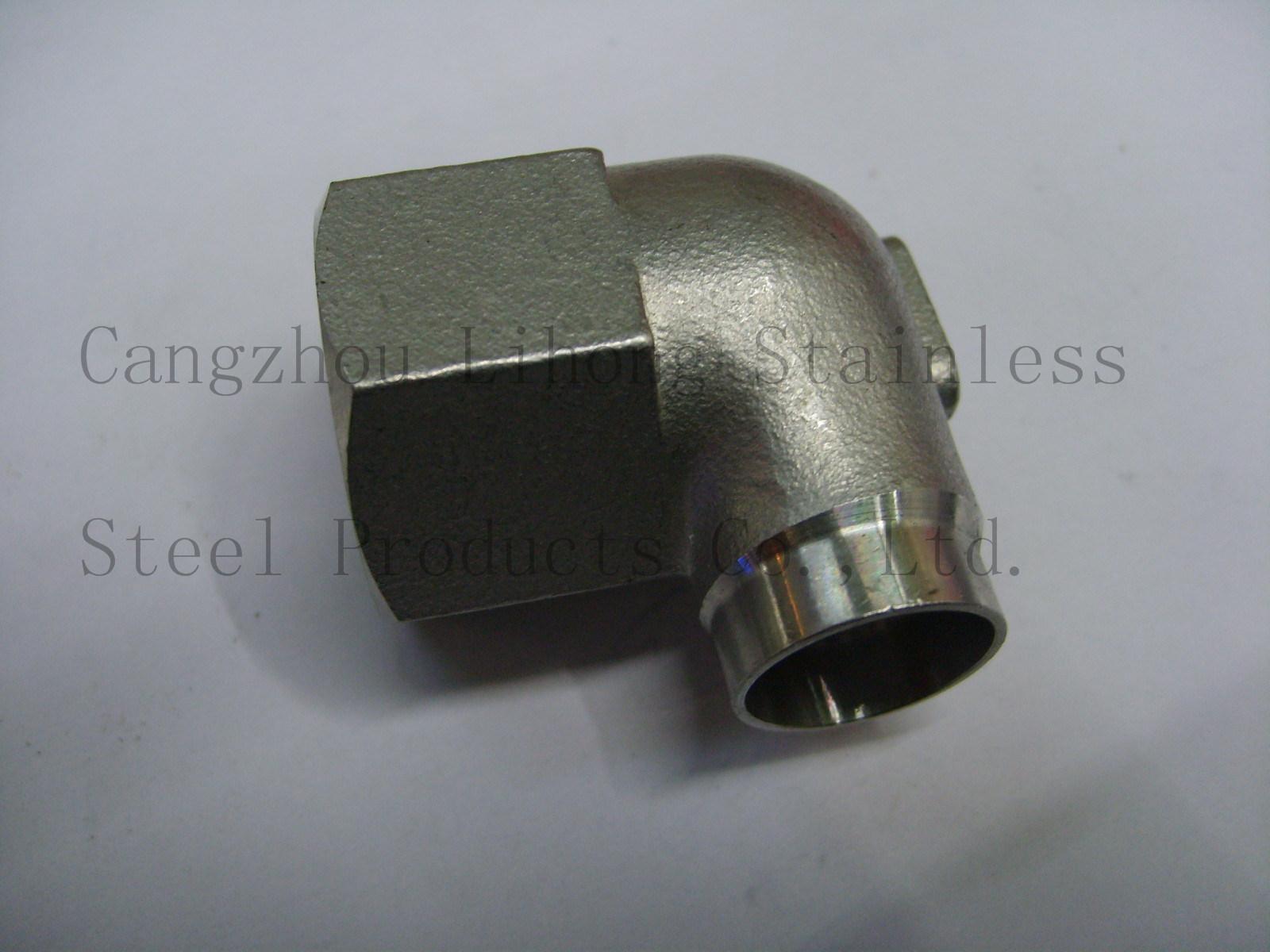 Raccordo per tubi in acciaio inox DIN2999 gomito