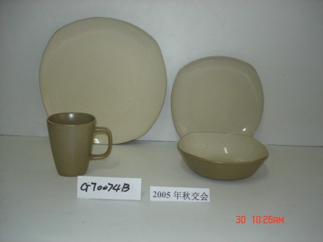 Padellame della glassa di colore (GT0074B)