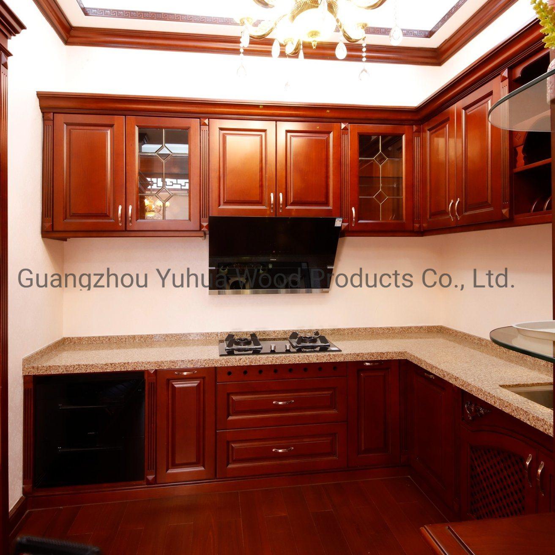 ヨーロッパの台所家具 - 固体木製のキッチンキャビネット (YH-51)
