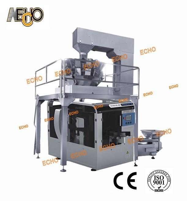 감자 칩 Mr8-200g를 위한 Doy 주머니 포장 기계