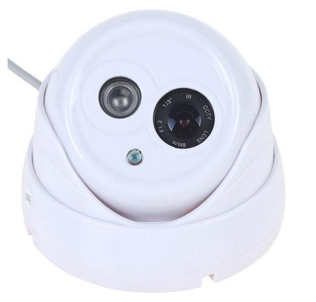 """6mm Lens 1/3 """" CMOS Camera van de Koepel van kabeltelevisie van 1080tvl de Hoge Definitie 1024 X 768 Infrarode"""