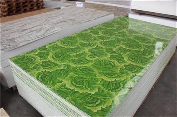 Venta caliente de mármol de PVC panel con buen precio.