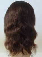 Virgen de la India los encajes de cabello pelucas
