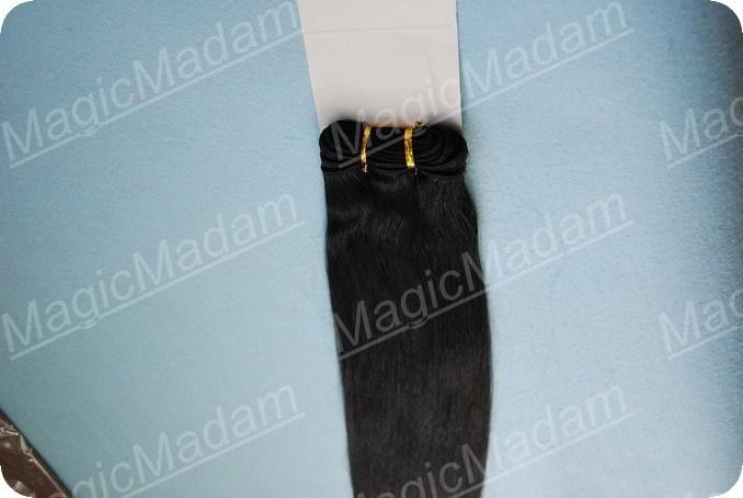 バージンの人間の毛髪のよこ糸(MID-VIRGINの毛)