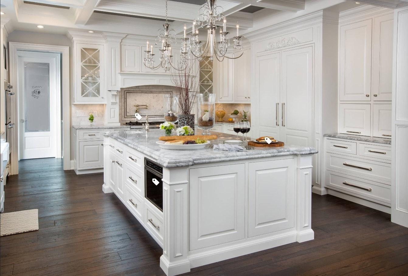 Lo stile francese di alta qualità progetta con l\'armadio da cucina ...