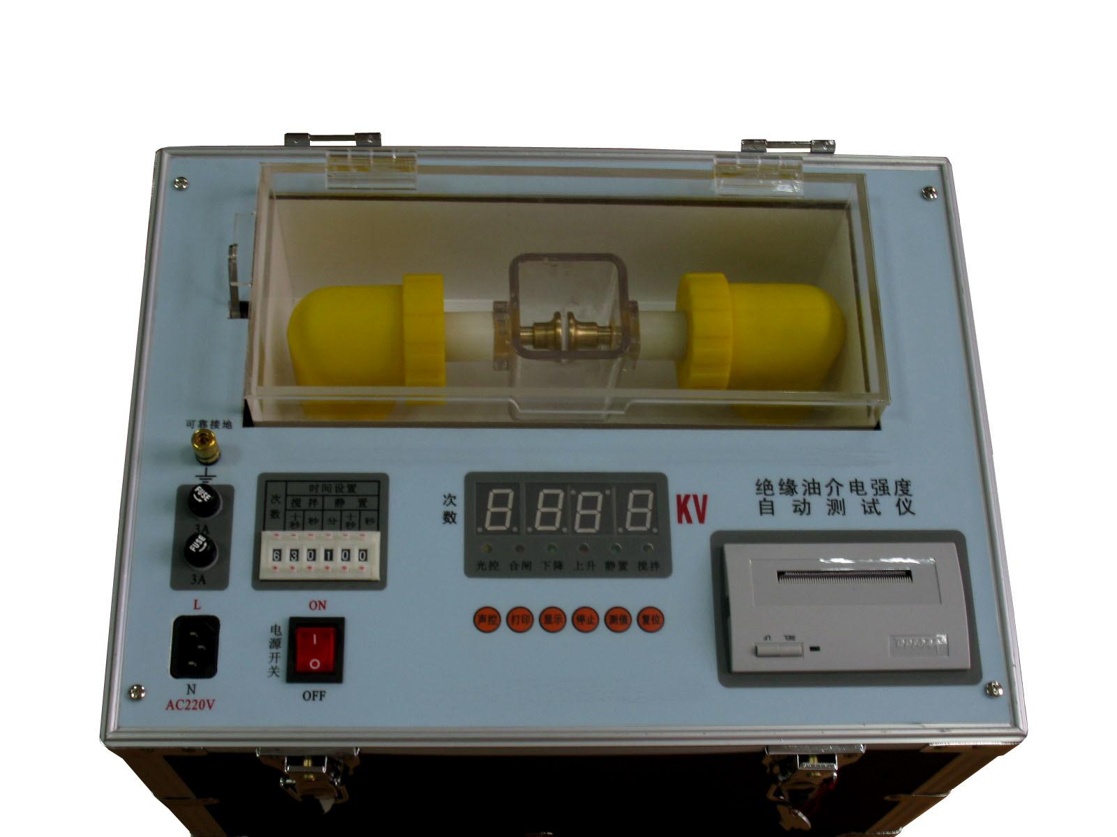 Aceite de transformador de aceite aislante probador de rigidez dieléctrica