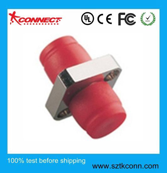 Tipo de plaza de acoplador de fibra óptica FC