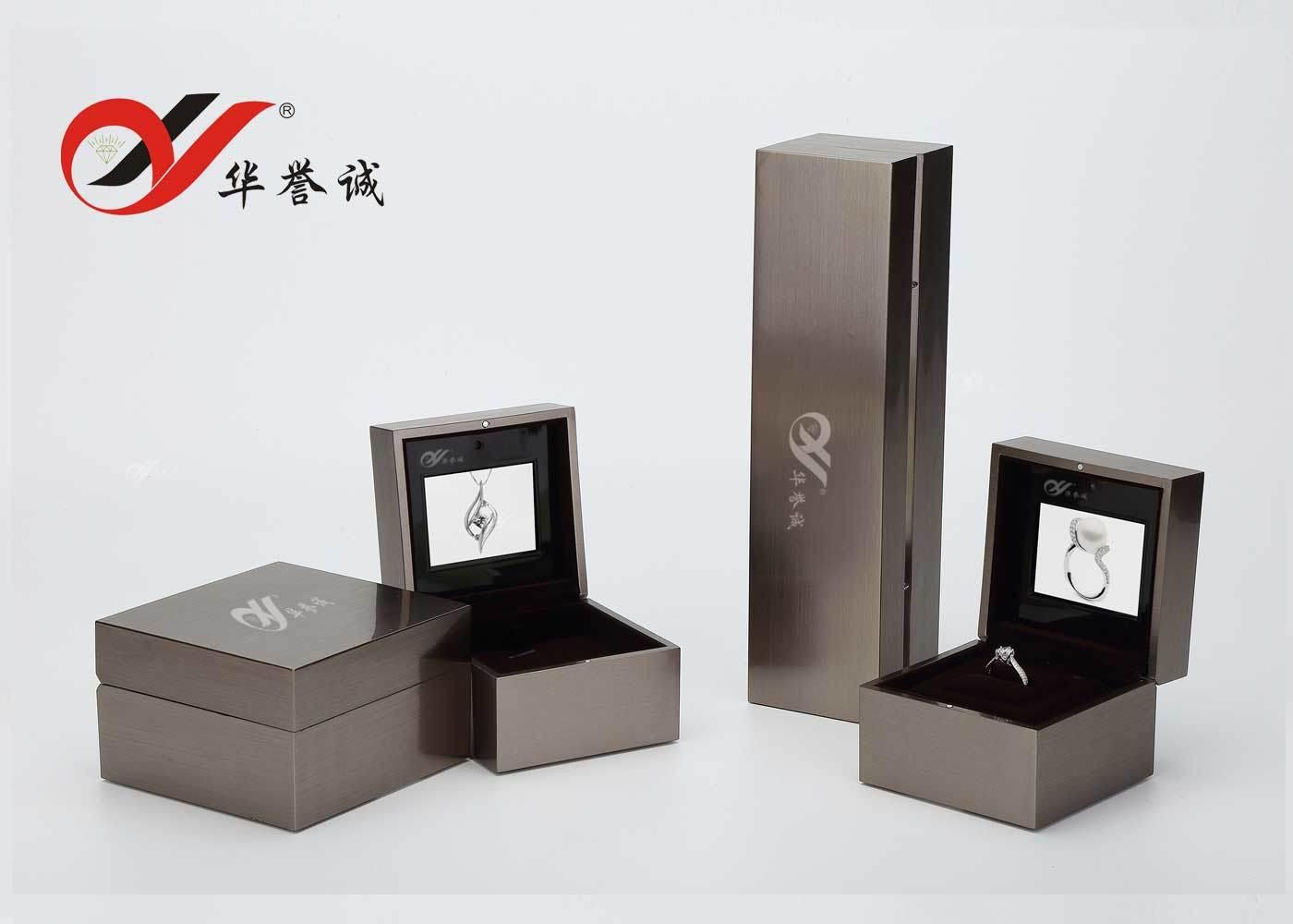 Collar de terciopelo caja de presentación de regalo de joyería anillo pulsera encanto regalo Caja de almacenamiento