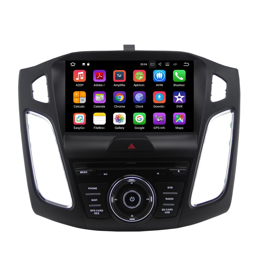 De androïde Radio van Auto 7.1 voor de Speler van Ford Focus DVD met GPS van Bluetooth WiFi het Systeem van de Navigatie