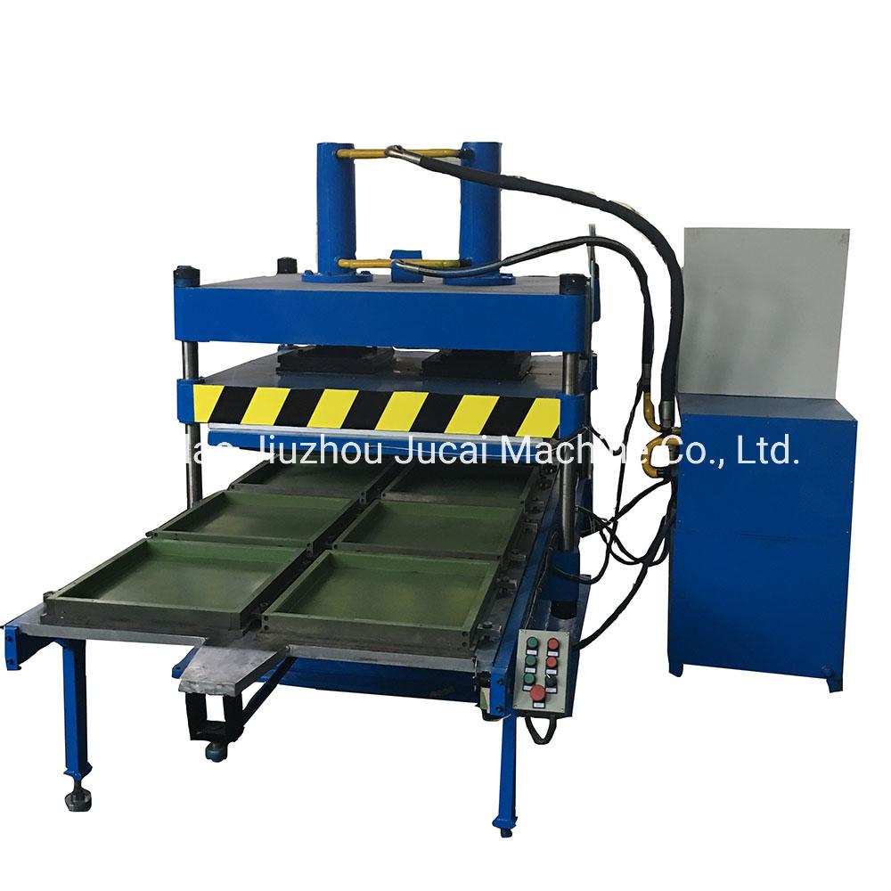 آلة ضغط تجانب الأرضية المطاطية /صناعة تجانب مطاطي صغير الماكينة/ماكينة السقف المطاطية