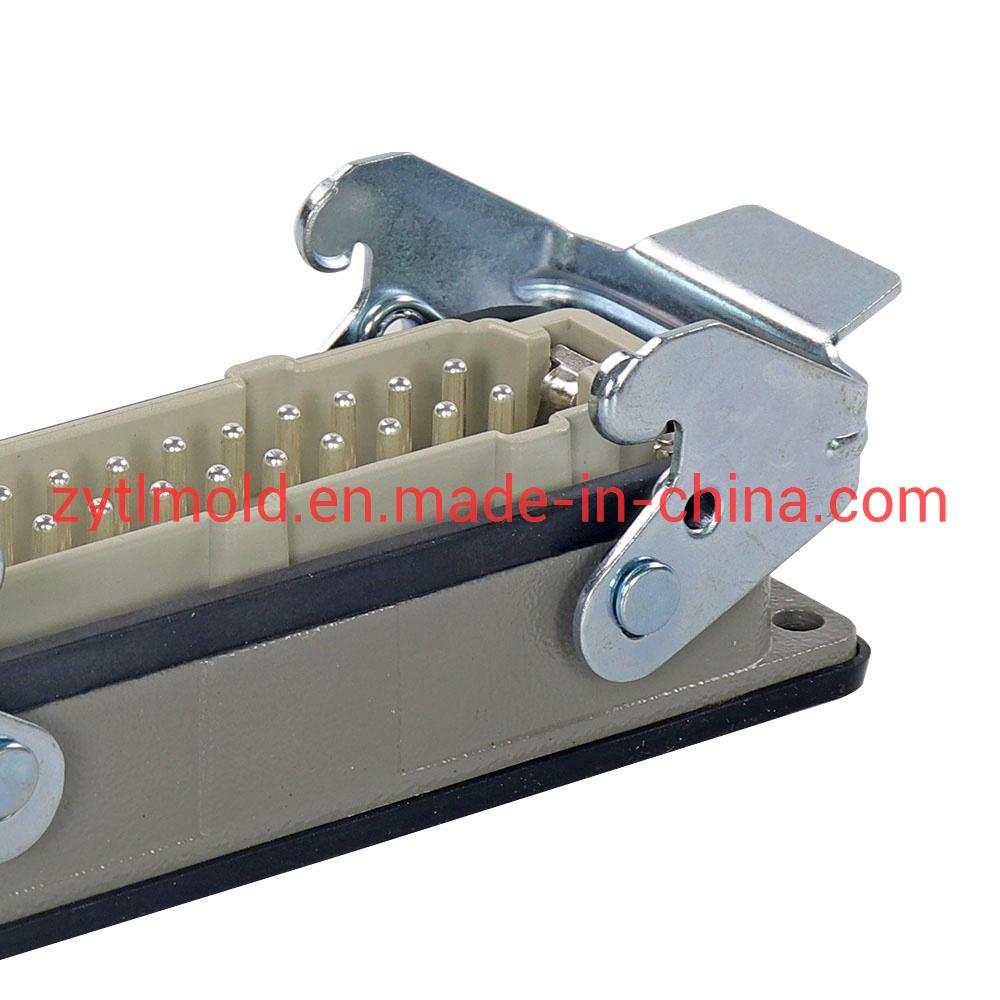 5-48 de alta presión de la aguja del molde de plástico resistentes al conector del sistema de canal caliente