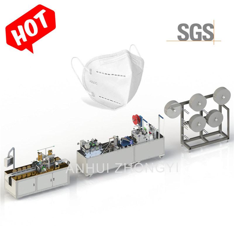 Fabrieksprijs KN95 N95 Cup Face Mask machine Assembly Lijn