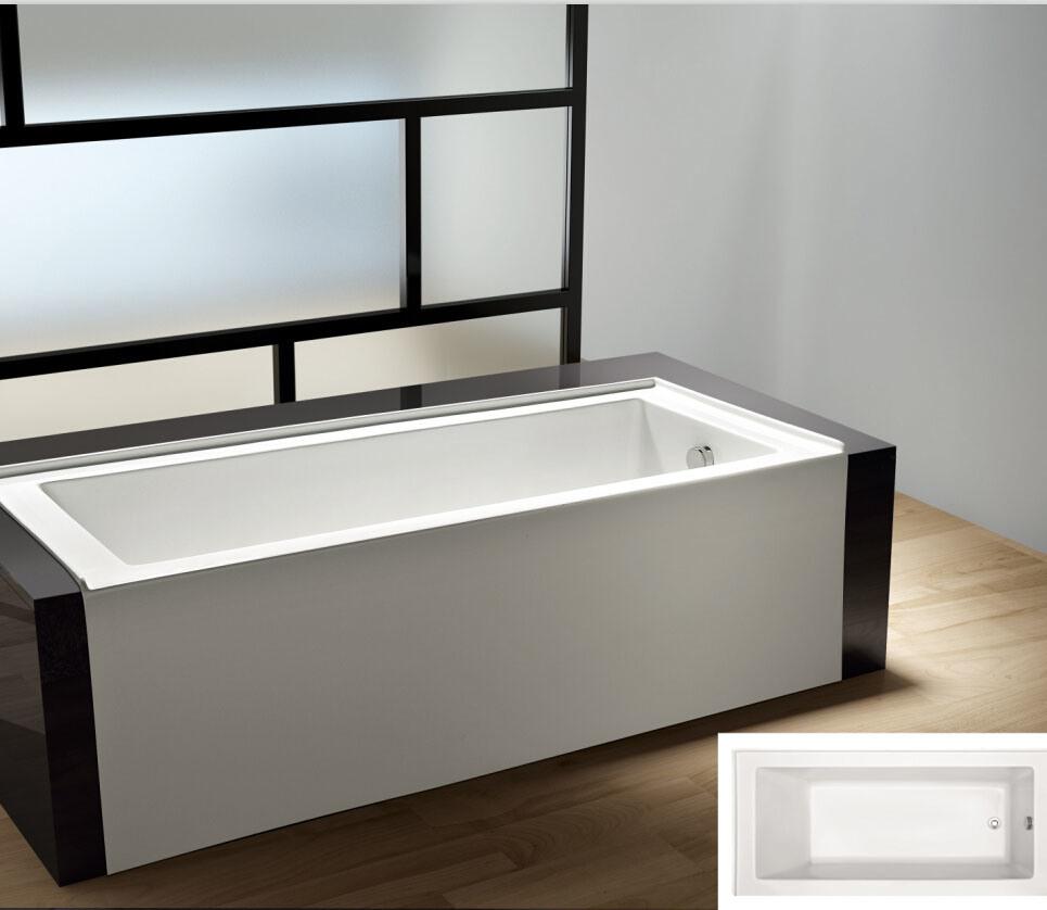 Decoration Tablier De Baignoire chine jupe tablier acrylique baignoire amovible – acheter 60
