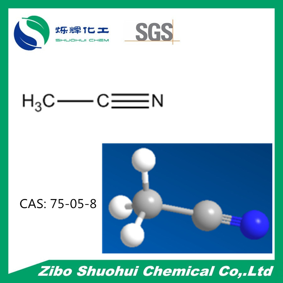 C2h3n Acetonitrile метил цианида (CAS: 75-05-8)