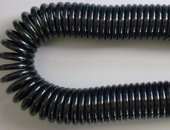 PUR Спиральный кабель питания