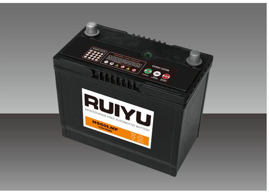 Ns60lsmf 12V45Ah JIS Std batería automático de batería de coche