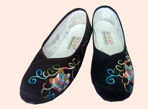 China Zapatos De Tela Chino Tradicional Comprar Zapatilla De Tela En Es Made In China Com