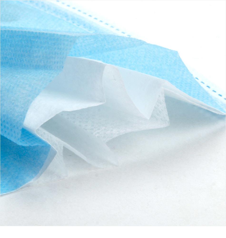 PP Meltblowed 不織布製造(中国製)、フェイスマスク原材料 100% PP 99% + FFP2/FFP3 メルトブロー非ウーブン素材