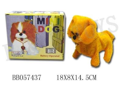 音(BB057437)を持つBoのプラシ天犬