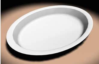 Документ посуда - овальной табличке