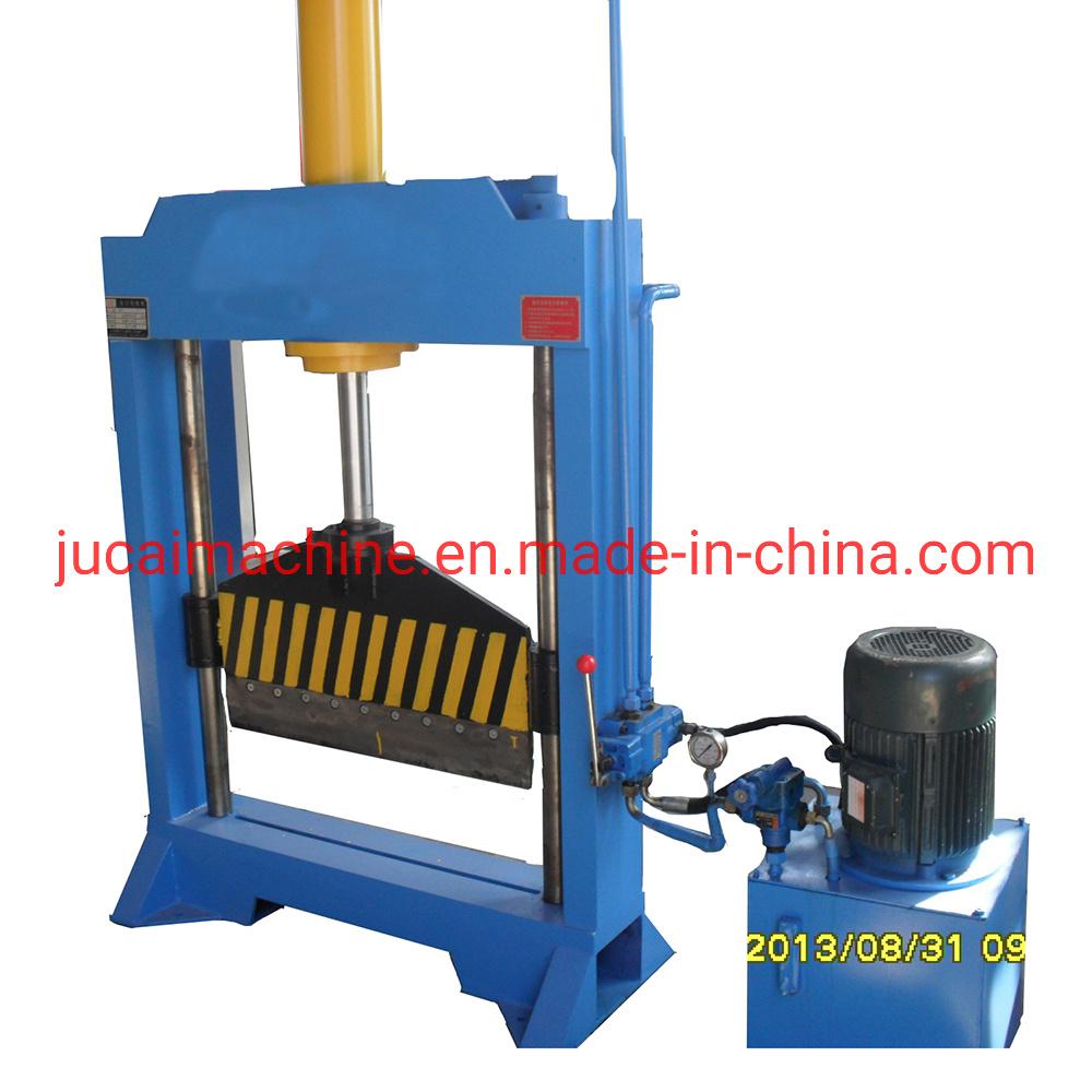 Plastique et caoutchouc Machine de découpe de balle/vertical de la faucheuse de balles en caoutchouc / Circuit hydraulique de la faucheuse en caoutchouc / Machine de découpe en caoutchouc