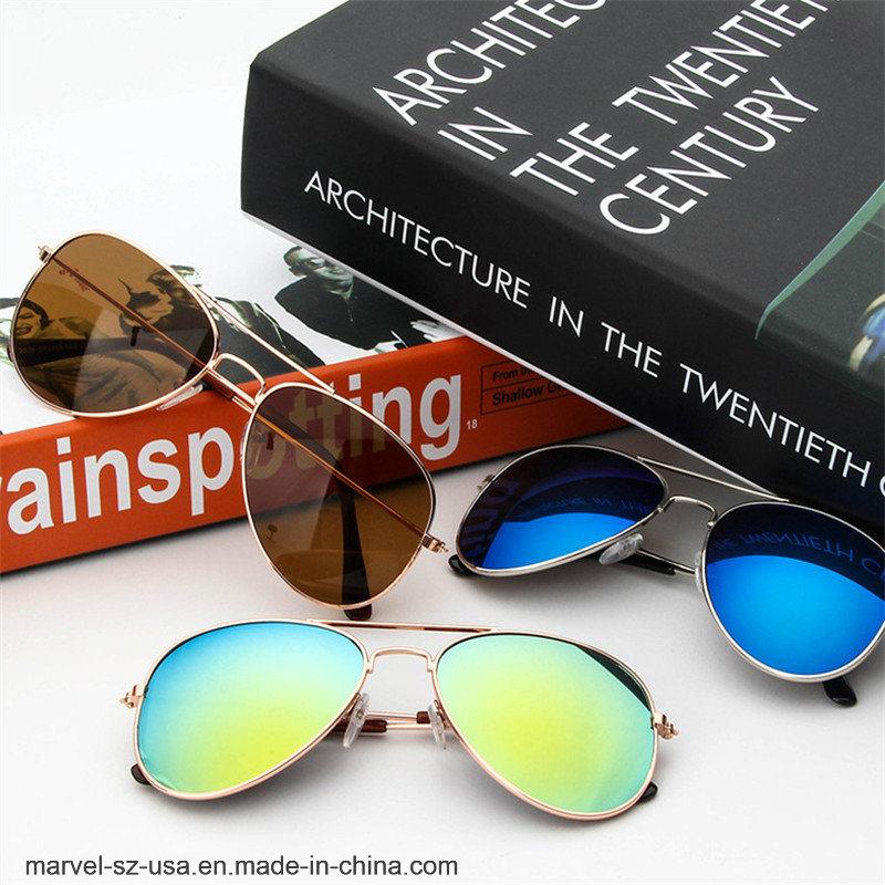 a5c5a1a848 Retro Classic Cute Fashion gafas Gafas de sol Gafas de sol de aleación de  los Niños