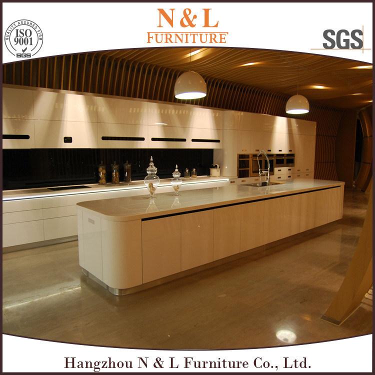 Foto de Nuevo diseño del gabinete de cocina con Metal resaltar ...